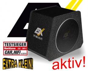 ESX Quantum Q Aktiv Subwoofer Bassbox V800A 400W