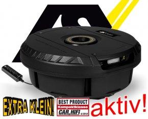 ESX Vision Aktiv Reserverad Subwoofer Bass V1100A 28cm 300W