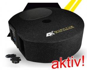 ESX Quantum Q Aktiv Reserverad Subwoofer Bass Q300A 300W
