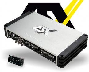 ESX Auto DSP Verstärker Endstufe QE80.8DSP 8-Kanal 8x 250W