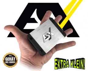 ESX Quantum Micro Verstärker Endstufe QS-TWO-ISO Plug&Play 2x 95W