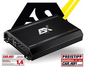 ESX Auto Verstärker Endstufe Signum SXE100.4 4x 200W