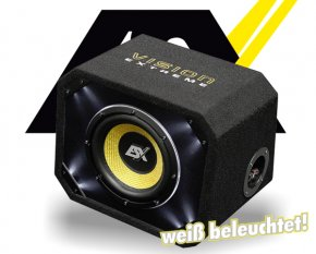 ESX Bassbox Subwoofer Bassreflex VE200
