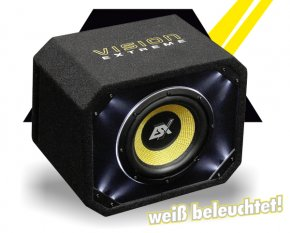 ESX Bassbox Subwoofer Bassreflex VE250