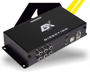 ESX DSP Auto Prozessor D66SP 6 Kanal IN OUT
