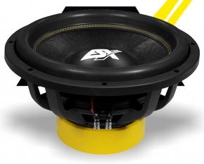 ESX Subwoofer Bass Lautsprecher Quantum QXE12D2