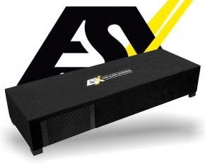 ESX Dual Subwoofer Bass kompakt DBX600Q 2x 165mm 600W