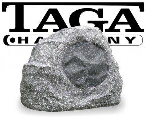 Taga Gartenlautsprecher Outdoor Stein Optik TRS-15 granit-weiß 100W