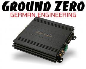 Ground Zero DSP Verstärker Endstufe GZDSP-4.80AMP 4x 80W