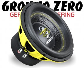 Ground Zero Subwoofer Bass GZIW 10SPL 25cm 1400W