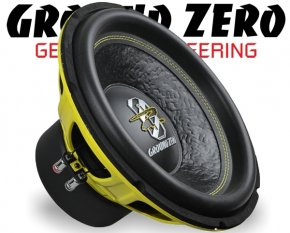 Ground Zero Subwoofer Bass GZIW 12SPL 30cm 2000W