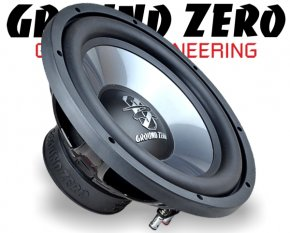 Ground Zero Subwoofer Bass GZIW 300X II 30cm 700W
