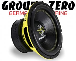 Ground Zero Subwoofer Bass GZRW 12XSPL 30cm 1500W