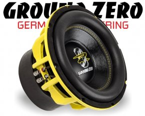 Ground Zero Subwoofer Bass GZHW 30SPL 30cm 3000W