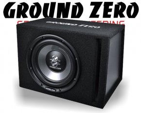 Ground Zero Subwoofer Bassbox Basslautsprecher GZIB 250XBR 25cm 500W