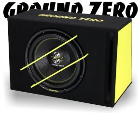Ground Zero Subwoofer Bassbox Basslautsprecher GZIB 3000XSPL 30cm 2000W