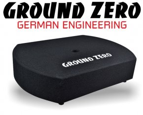 Ground Zero Subwoofer Reserverad Bassbox GZCS-10SUB 25cm 300W