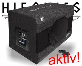 Hifonics Aktiv-Subwoofer Bass Lautsprecher 6x9 VX690A 300W