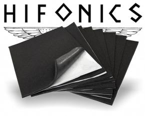 Hifonics Akustik Schaumstoff Dämmaterial Dämmmatten ZSQ7
