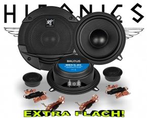 Hifonics Brutus Auto Lautsprecher extra flach BRX5.2C 180W