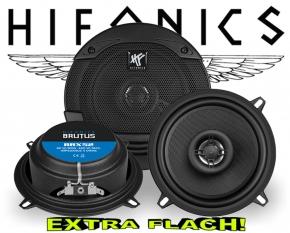 Hifonics Brutus Auto Lautsprecher extra flach BRX52 160W