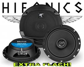 Hifonics Brutus Auto Lautsprecher extra flach BRX62 180W