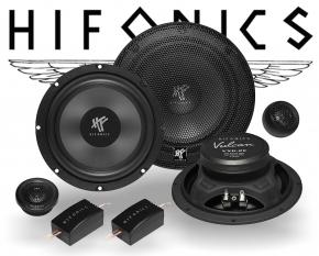 Hifonics Vulcan 2-Wege Auto Lautsprecher System VX6.2E