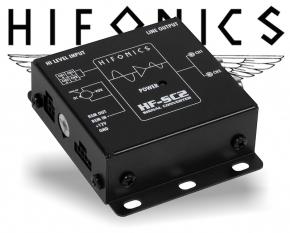 Hifonics High-Low Adapter 2 Kanal Konverter HF-SC2