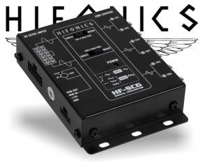 Hifonics High-Low Adapter 6 Kanal Konverter HF-SC6