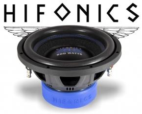 Hifonics Zeus Subwoofer Bass Lautsprecher ZXS10D2