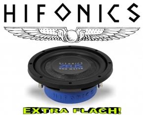 Hifonics Zeus Flach Subwoofer Bass Lautsprecher ZST8D2 2+2ohm