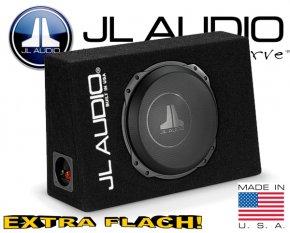 JL Audio Auto Subwoofer Bassbox flach 400W CS112TG-TW3