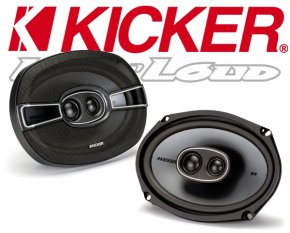 Kicker Auto Lautsprecher KS-Serie 3-Wege-Triax KSC6934 160x230mm oval 300W