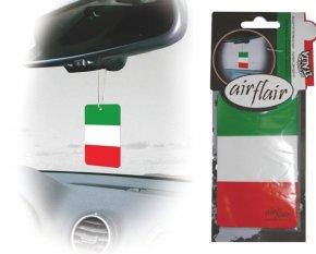 Lufterfrischer Duftbaum Auto Flagge Italien kirsch