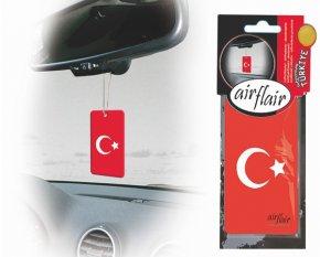 Lufterfrischer Duftbaum Auto Flagge Türkei kirsch