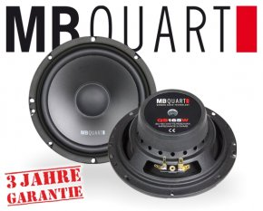 MB Quart Auto Subwoofer QS165W 165mm 180W
