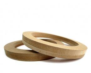 MDF Lautsprecherringe MDF Speaker Ring Holz universal 165mm