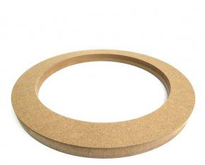 MDF Lautsprecherring MDF Speaker Ring Holz universal 250mm