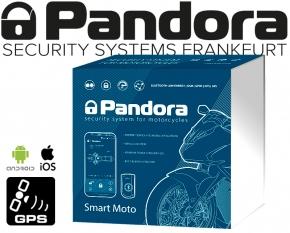 Pandora Smart Moto V2 Alarmanlage Motorrad Roller Quad Scooter mit GSM GPS Ortung