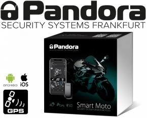 Pandora Smart Moto V3 Alarmanlage Motorrad Roller Quad Scooter mit GSM GPS Ortung