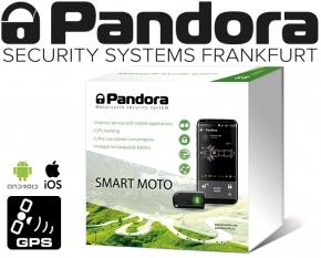 Pandora Smart Moto Alarmanlage Motorrad Roller Quad Scooter mit GSM GPS Ortung
