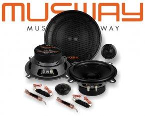 Musway 13cm Auto Lautsprecher System MS5.2C 180W