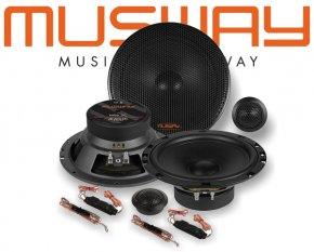 Musway 16,5cm Auto Lautsprecher System MS6.2C 200W