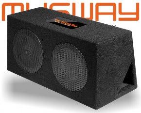 Musway Subwoofer Bassbox Bassreflex 800W MR-208Q