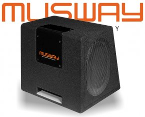 Musway Subwoofer Bassbox Bassreflex 400W MT-169Q