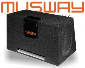 Musway Subwoofer Bassbox Bassreflex 800W MT-269Q