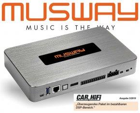 Musway DSP Prozessor 8-Kanal DSP68PRO