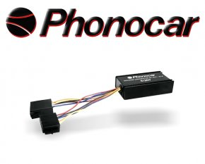 Phonocar Spannungswandler 24V > 12V 180W Autoradio in Lkw 5/207