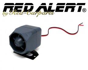 1-Ton-Sirene für Autoalarmanlage oder als Signalgeber uvm. extra klein
