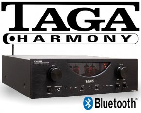 Taga Stereo Hybrid Röhrenverstärker mit Bluetooth HTA-2500B 2x 200W